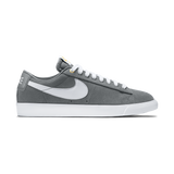 Blazer Low GT Grey White Tide Pool Blue