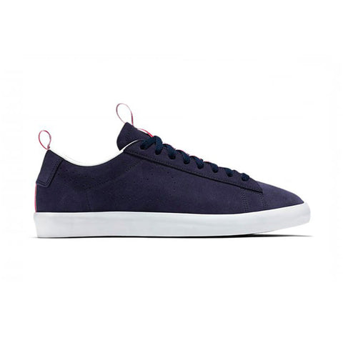 Blazer Low PRM QS Obsidian White Action Red