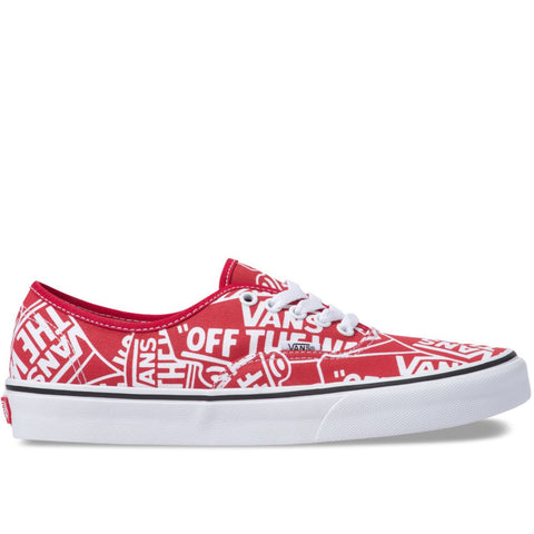 Authentic (OTW REPEAT) Red True White