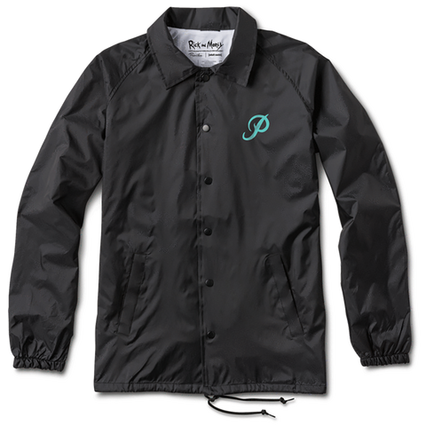 Portal Coaches Jacket Black