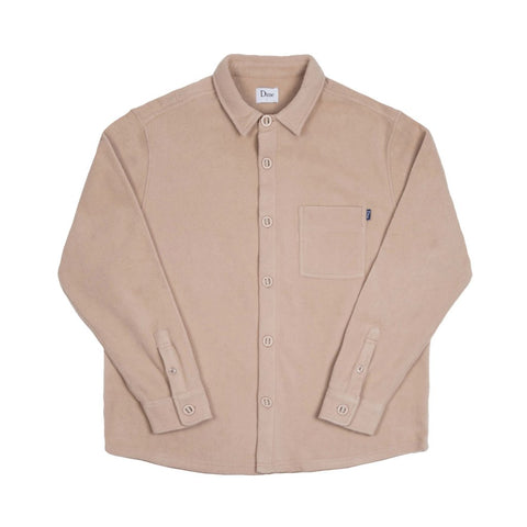 Polar Fleece Button Up Cream