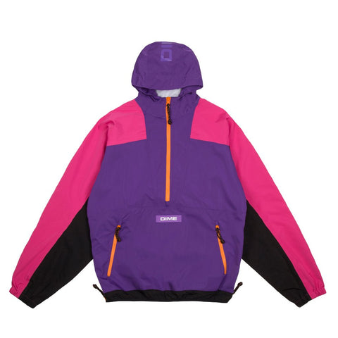 Pullover Hooded Shell Purple