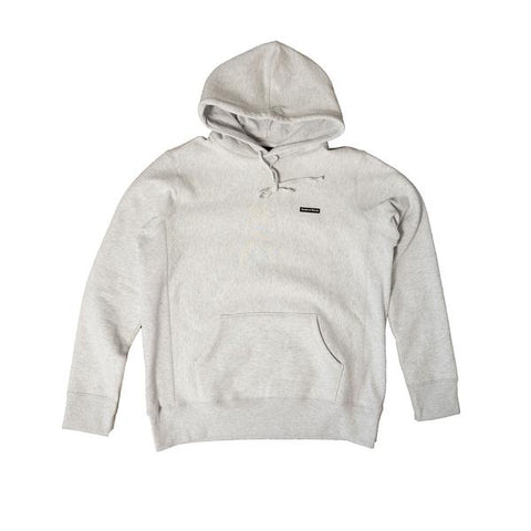 PVC Logo Hoodie Heather Grey