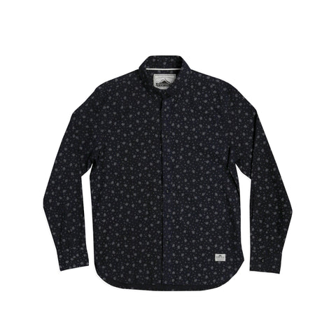 Banning LS Button Down Navy