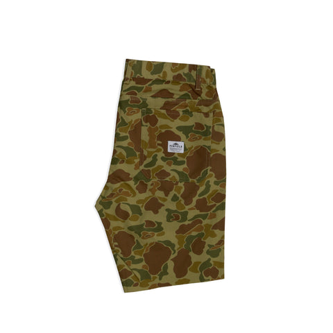 Kingman Cut Off 5 Pocket Duck Camo