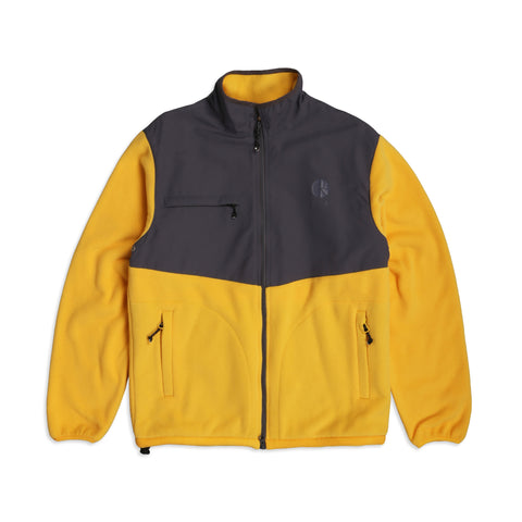 Halberg Fleece Graphit Yellow