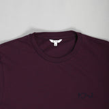 Micro Stripe Burgundy Navy