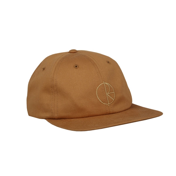 Stroke Logo Cap Golden Brown