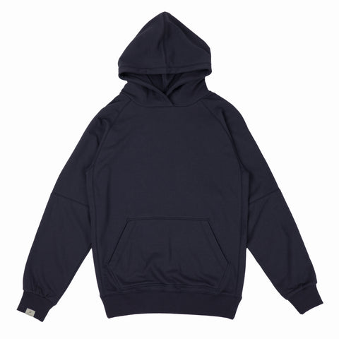 Index Terry Hoodie Fleece Navy