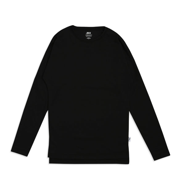 Publish LS Drop Shoulder Black