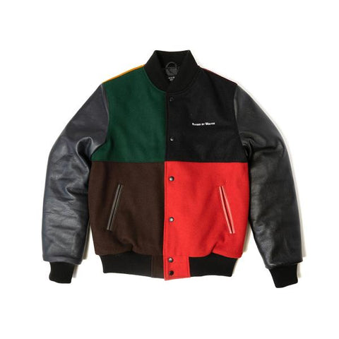 Colour Block Stadium Jacket