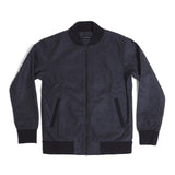 College Bomber Jacket Charcoal