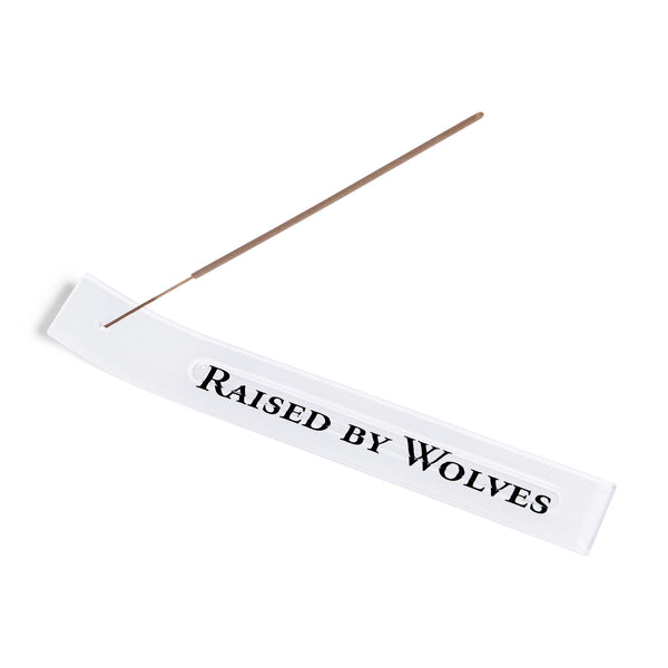 Logotype Incense Holder White