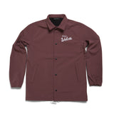 Varsity Coaches Jacket Rose Brown
