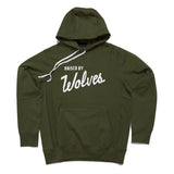 Varsity Hooded Olive Drab