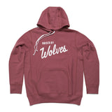 Varsity Hooded Wine