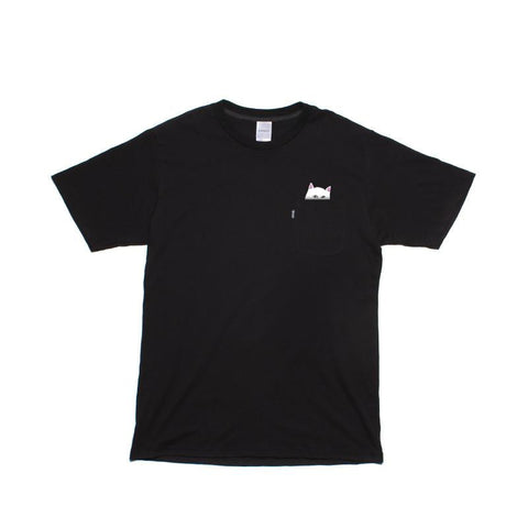 Pocket T-Shirt Lord Nermal Black