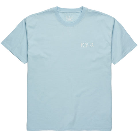 Stroke Logo Tee Light Blue