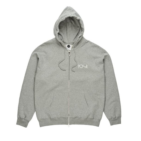 Stroke Logo Zip Up Heather Gray