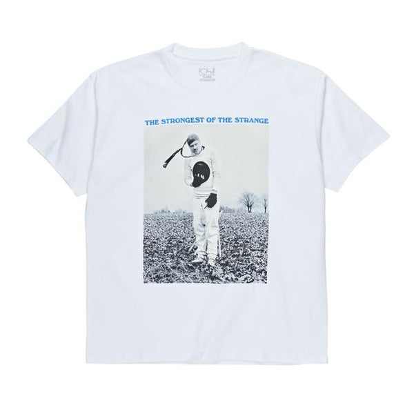 The Strongest Of The Strange Tee White