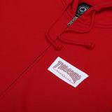 Boxed Logo Zip Red