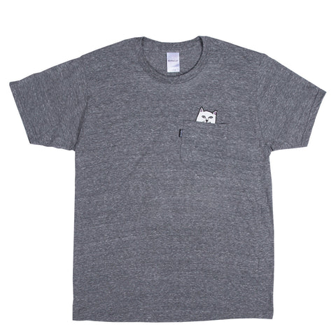 Pocket T-Shirt Lord Nermal Grey