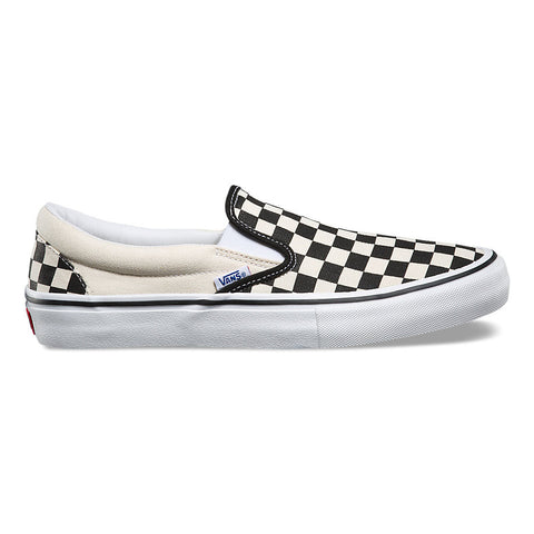 Slip On Pro Black Checkerboard