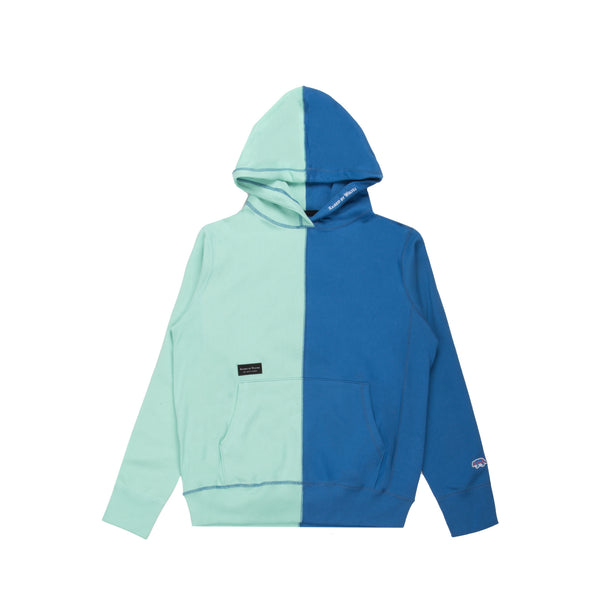 Vert Hooded Mint Blue Indigo French Terry