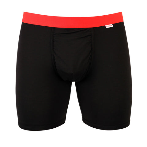 Weekday (Boxer Brief) Black Red