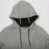 XO Hood Sweat Grey Marle
