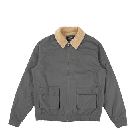 Sherpa Jacket Grey