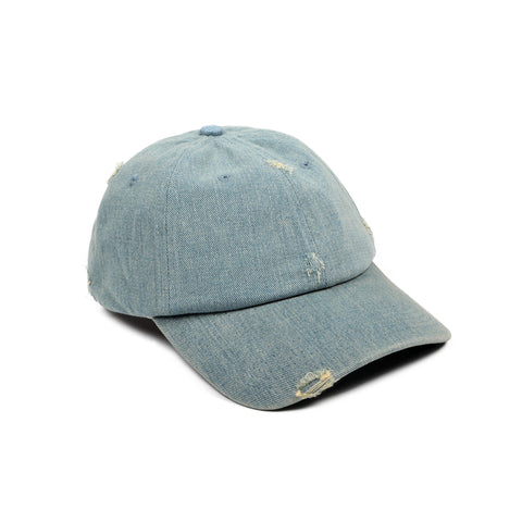 Future Curved Brim Blonde Denim