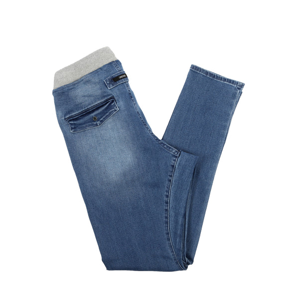 Salerno Rib Denim Saltwash Blue