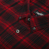 Seven Foot LS Red Flanno