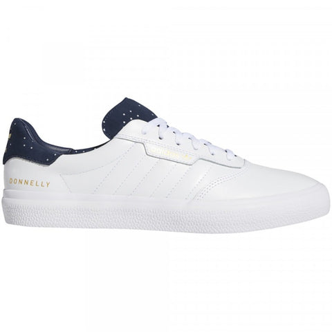 3MC Footwear White Collegiate Navy Gold Metallic