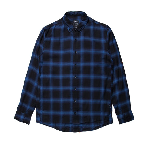 Antoine LS Button Up Blue