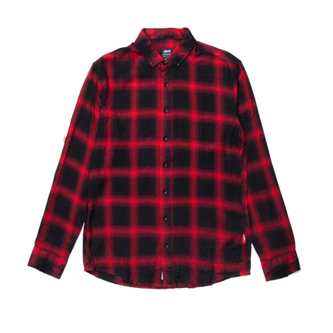 Antoine LS Button Up Red