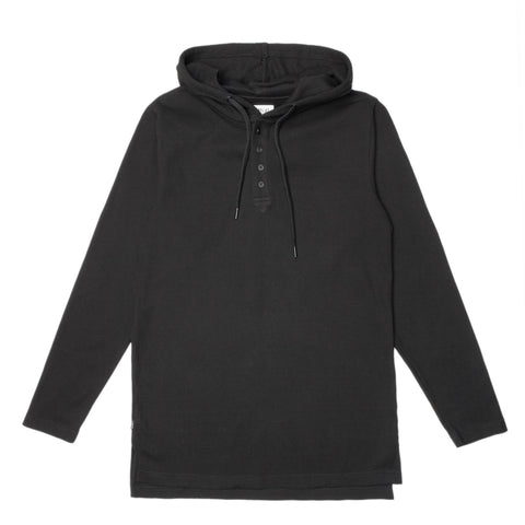 Butler Hooded Pullover Black