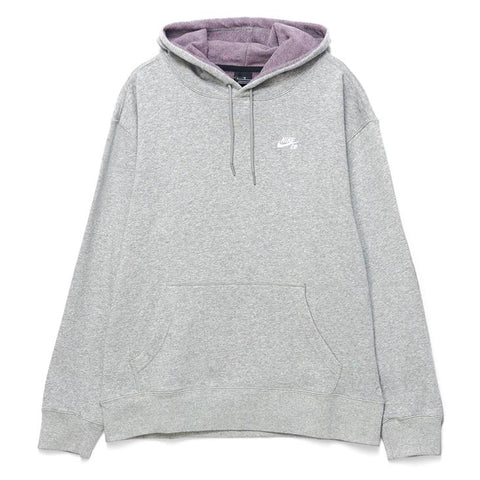 Nike SB Hoodie ISO Dark Grey Heather White