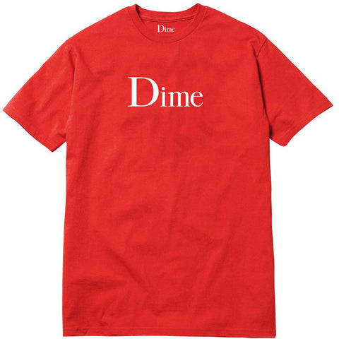 Classic Logo T-Shirt Red