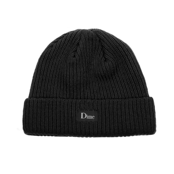 Heavyweight Beanie Black