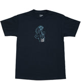 Pleasures Tee Navy