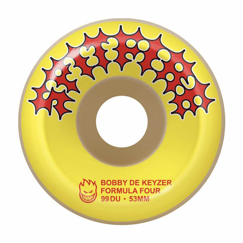 F4 99 Dekeyzer Two Stroke Yellow Print 53mm