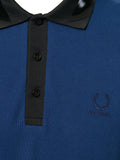 Raf Simons x Fred Perry Tape Collar Pk Shirt French Navy