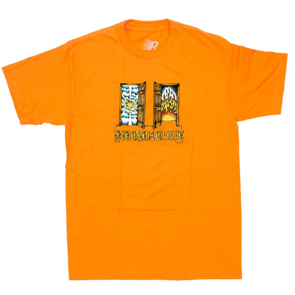 Heaven And Hell Tee Orange
