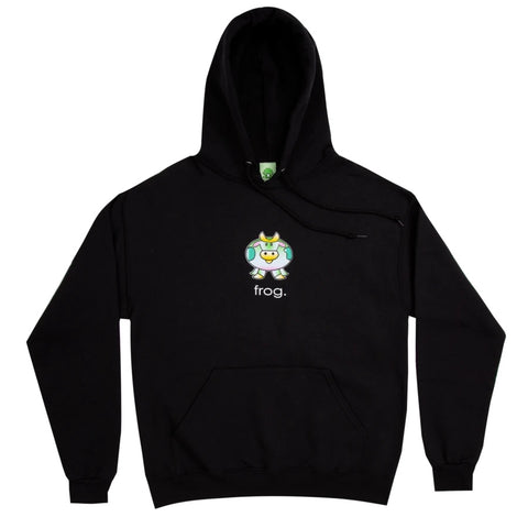 The Cow Hoodie Black