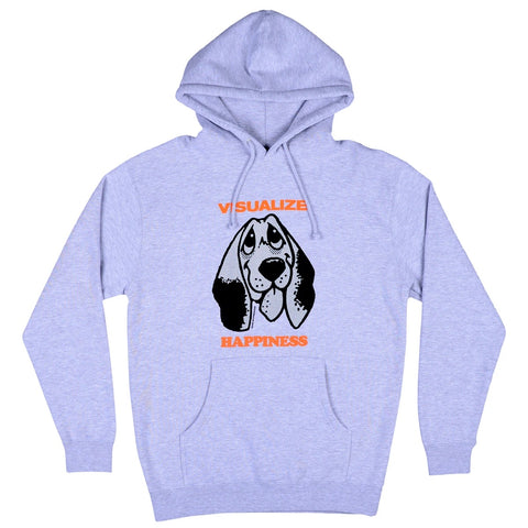 Happiness Hoodie Heather Grey