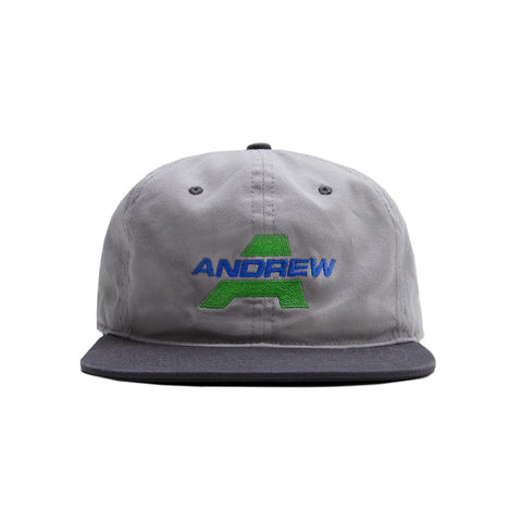 Sport 6 Panel Cap Light Grey Dark Grey