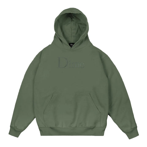 Dime Classic Hoodie Olive