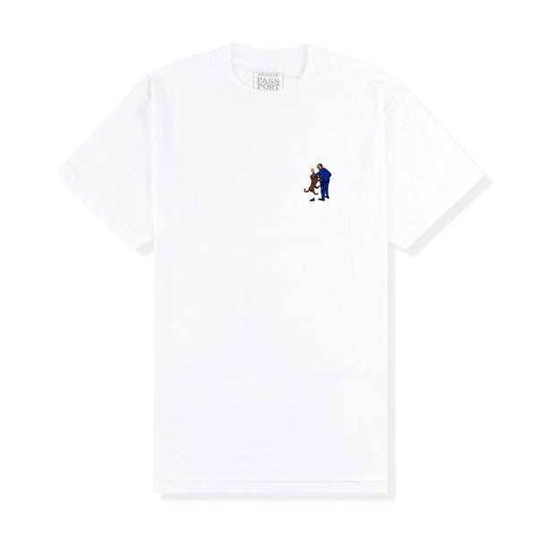 Friendly K9 Tee White